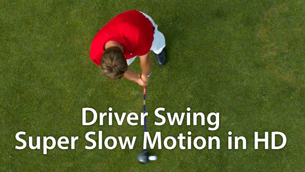 Golf Swing Driver Slow Motion