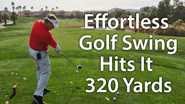 See My Powerful Effortless Pain Free Golf Swing In Action